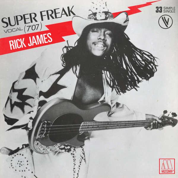 Rick James Super Freak Below The Funk Pass The J