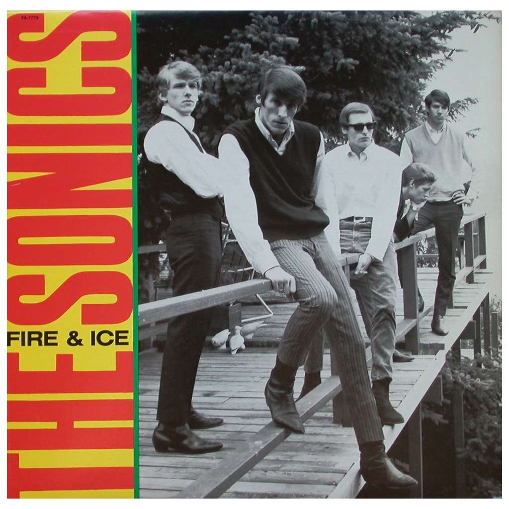 Fire Amp Ice By The Sonics Lp With Skeudagogo