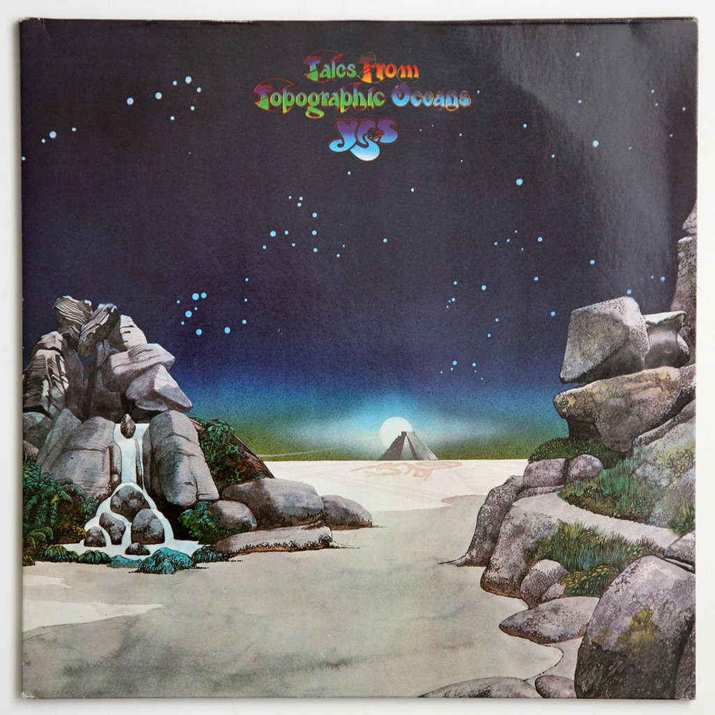 tales from topographic oceans yes lp2枚 売り手 gileric67