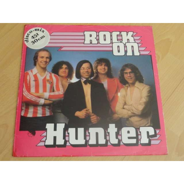 hunter rock on  (rare!!!!)