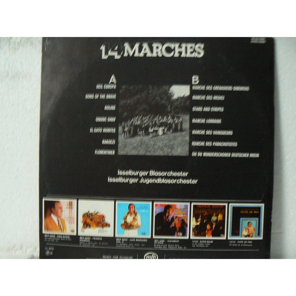 ISSELBURGER BLASORCHESTER 14 MARCHES CELEBRES