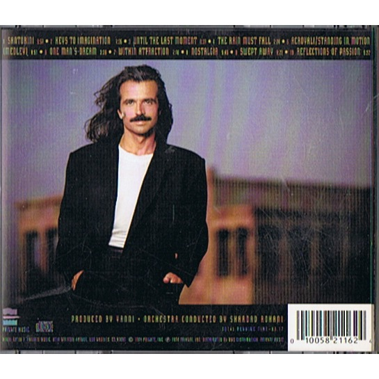 Live at the acropolis by Yanni, CD with patrickjoker