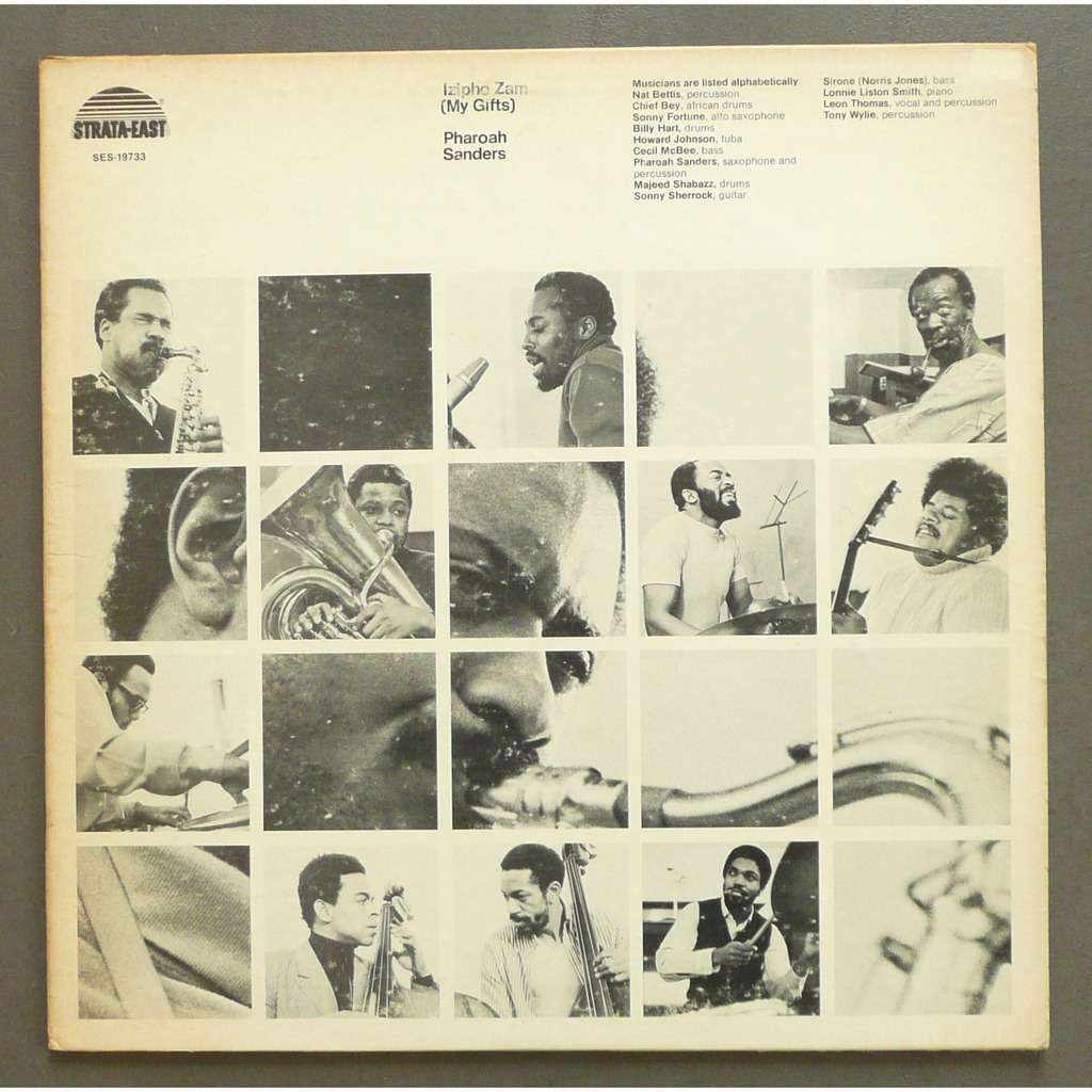 Close pharoah sanders izipho sam my ts lp