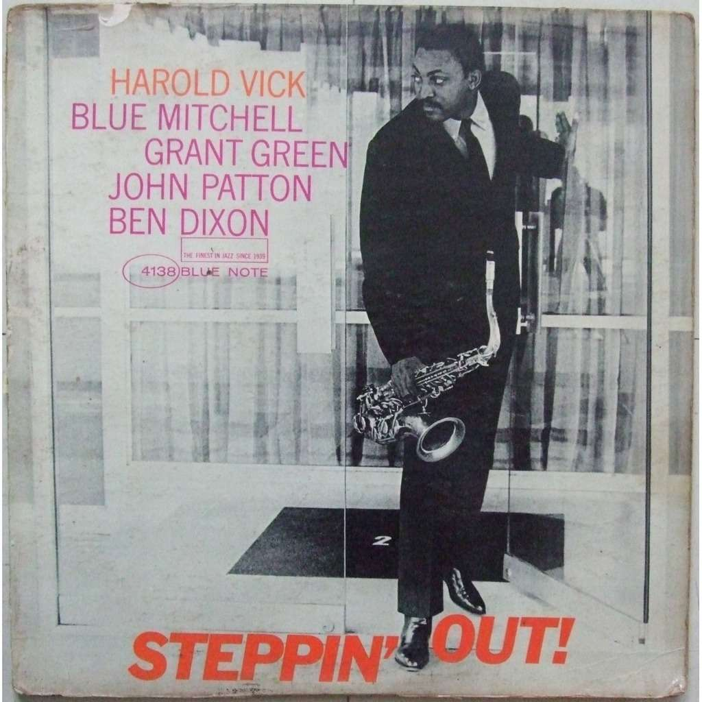 Steppin' out by Harold Vick, LP with mange-disques - Ref ... Steppin Out