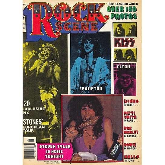 Rock Scene Magazine November 1976 By Peter Frampton