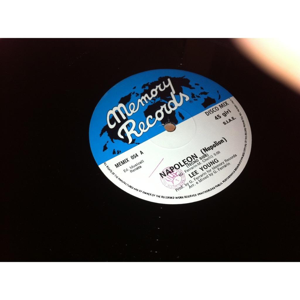 Napoleon (rare italo disco killer) by Lee Young, 12inch with LolaRecords
