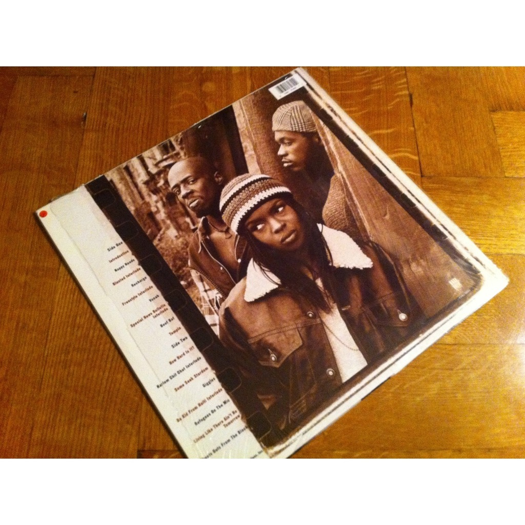 Blunted on reality (cult hip hop 1st album) by Fugees, LP with LolaRecords