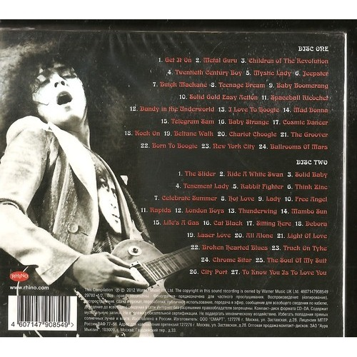 Greatest Hits By T Rex Cd X 2 With Rockinronnie Ref