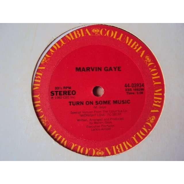marvin gaye JOY (VOCAL 4'30) / TURN ON SOME MUSIC (VOCAL 5'06) 1982 USA (MAXIBOXLP)