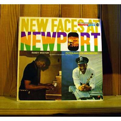 RANDY WESTON TRIO & LEM WINCHESTER QUARTET new faces at newport METROJAZZ JAPAN MONO ORIG