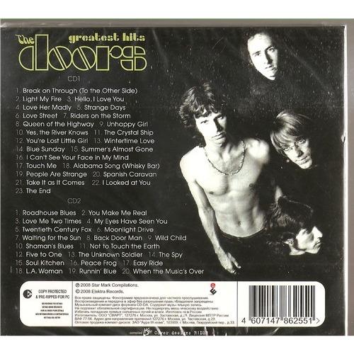 the doors greatest hits; the doors greatest hits ... & Greatest hits by The Doors CD x 2 with rockinronnie - Ref:115780513