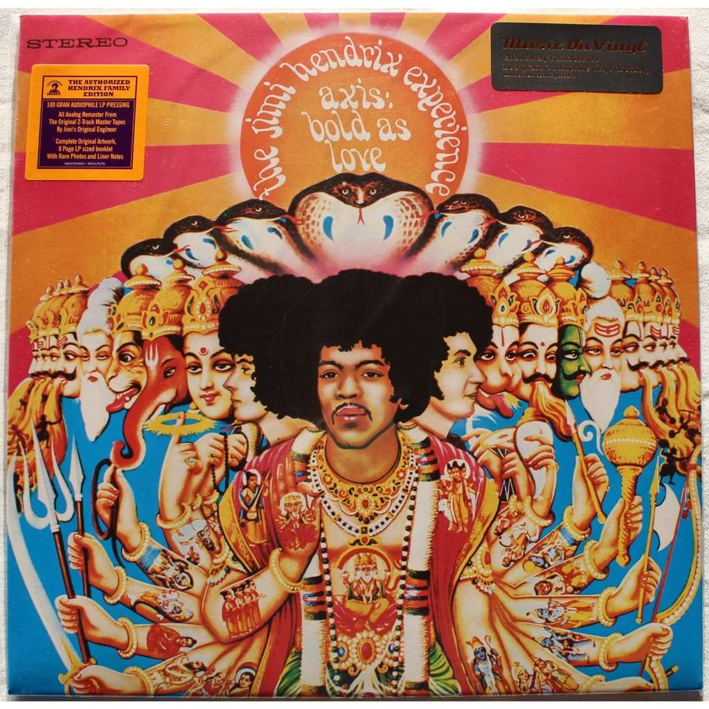 axis bold as love by jimi hendrix lp 180 220 gr with rocknrollbazar ref 114731001. Black Bedroom Furniture Sets. Home Design Ideas