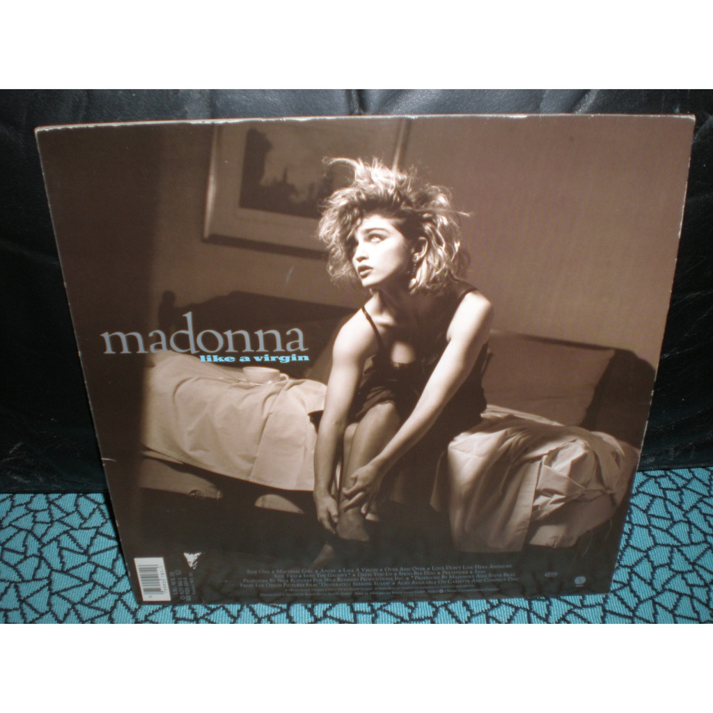 Like A Virgin By Madonna Lp With Menuiserie