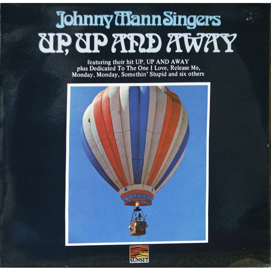 up up and away by johnny mann singers lp with rarissime ref 115798198. Black Bedroom Furniture Sets. Home Design Ideas