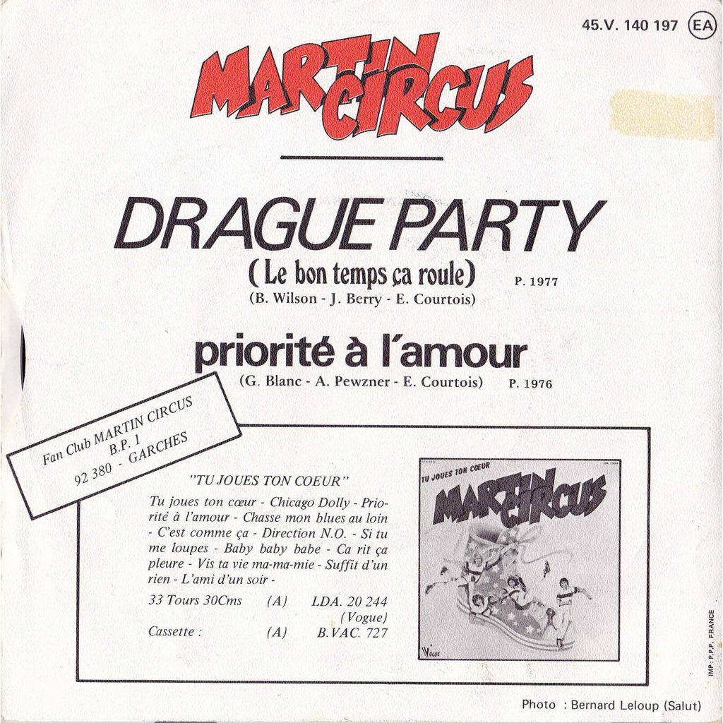 Martin Circus - Drague Party