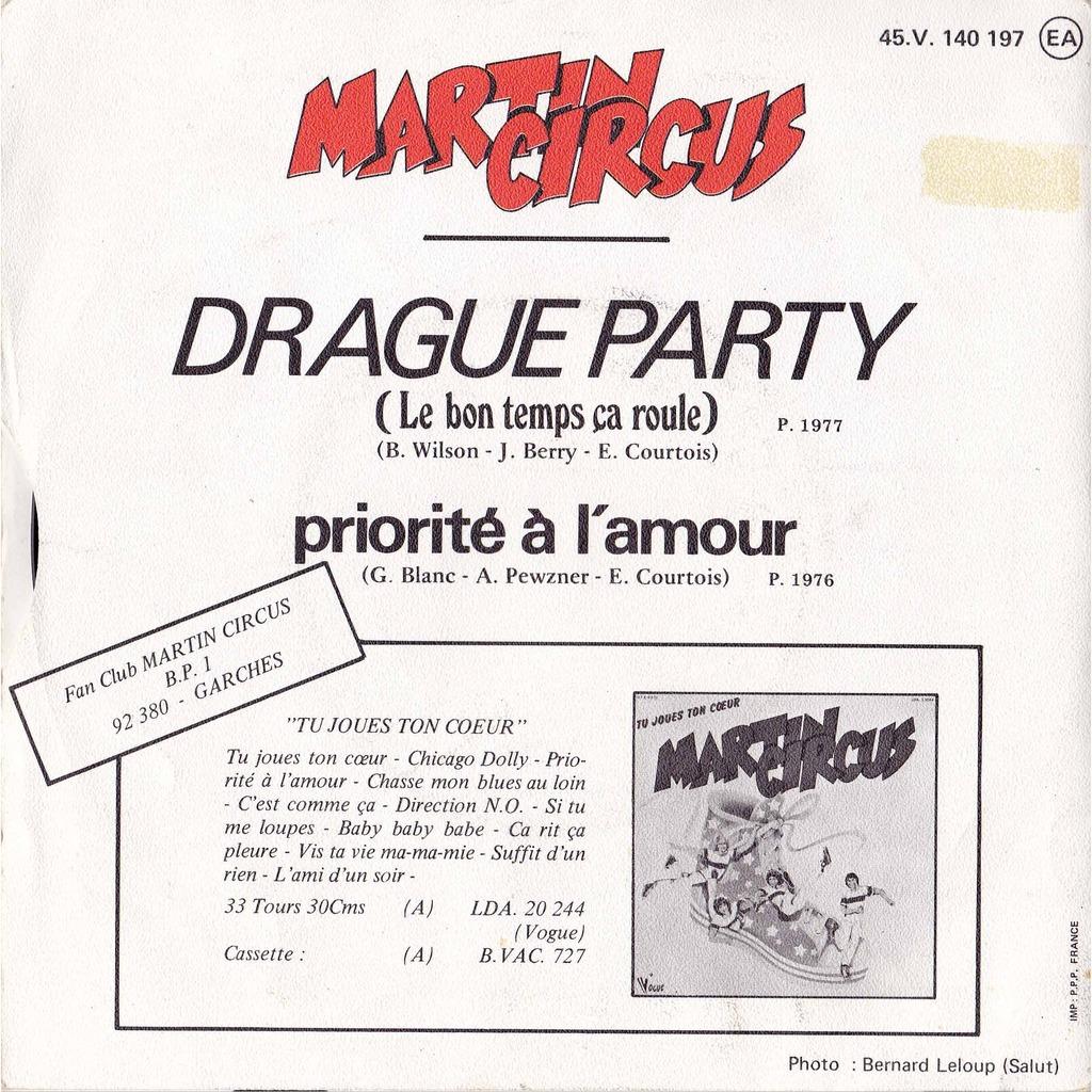 Martin Circus - Drague Party