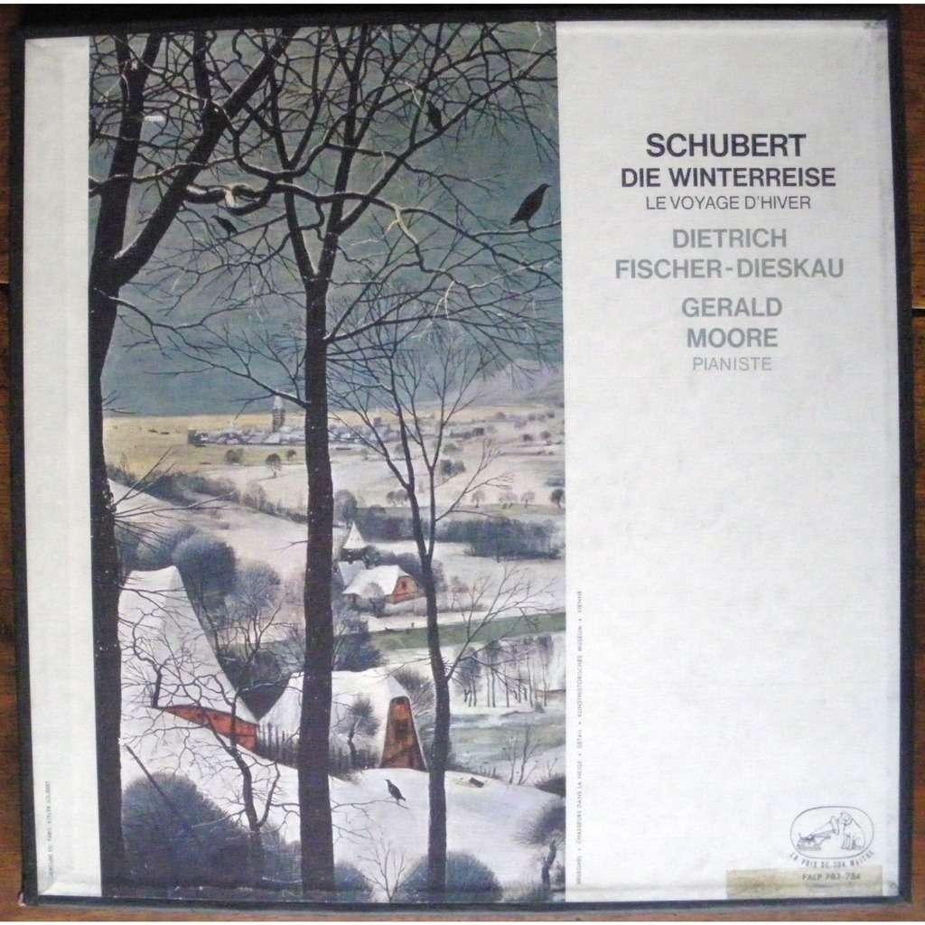 Dietrich Fischer-Dieskau* Fischer-Dieskau·Singt Franz Schubert* Schubert - Lieder Von Franz Schubert - Nach Texten Von Johann Wolfgang von Goethe