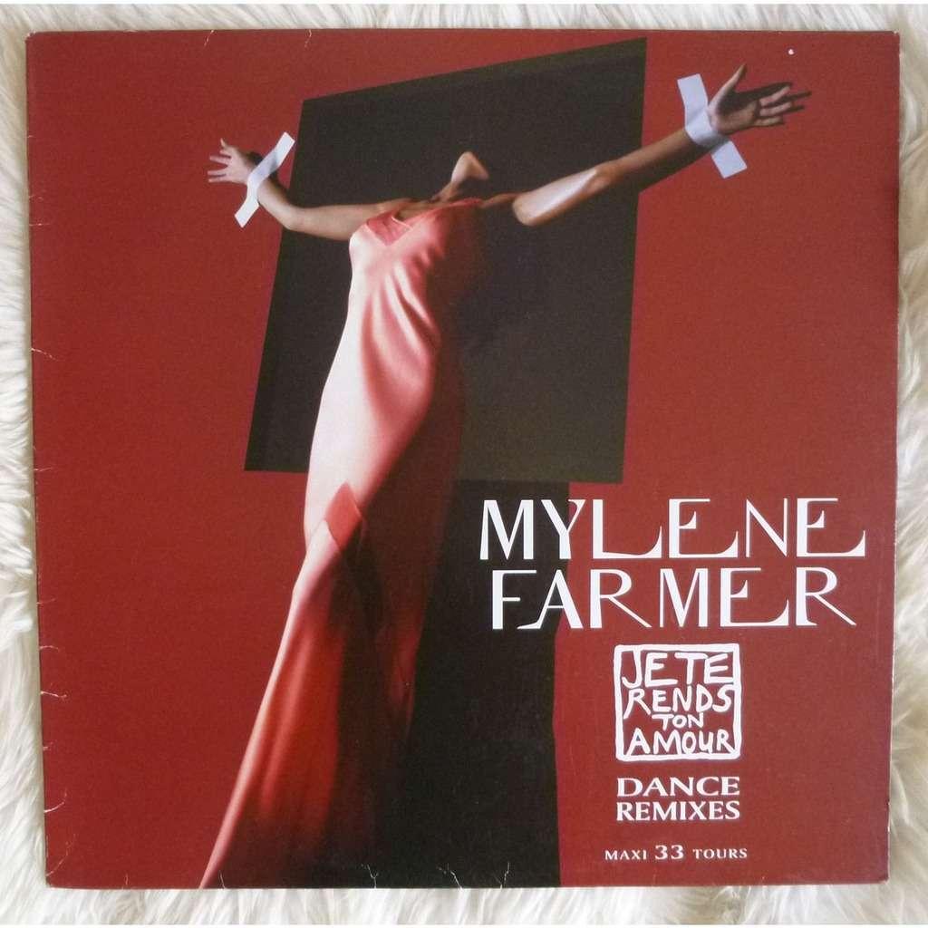 Mylène FARMER Je te rends ton amour ( Dance remixes )