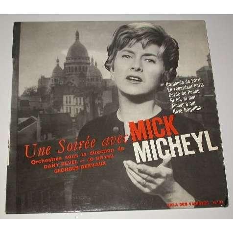 Mick Micheyl un gamin de paris