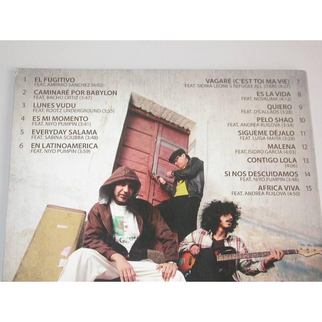 SARAZINO EVERYDAY SALAMA (PROMOTIONAL CD 2012 USA 20764)