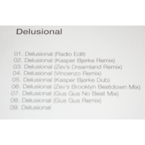 Human Woman Delusional (CD Promotionnel)