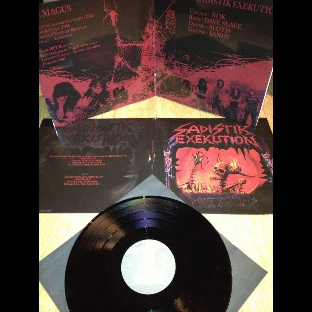 SADISTIK EXEKUTION The Magus. Black Vinyl