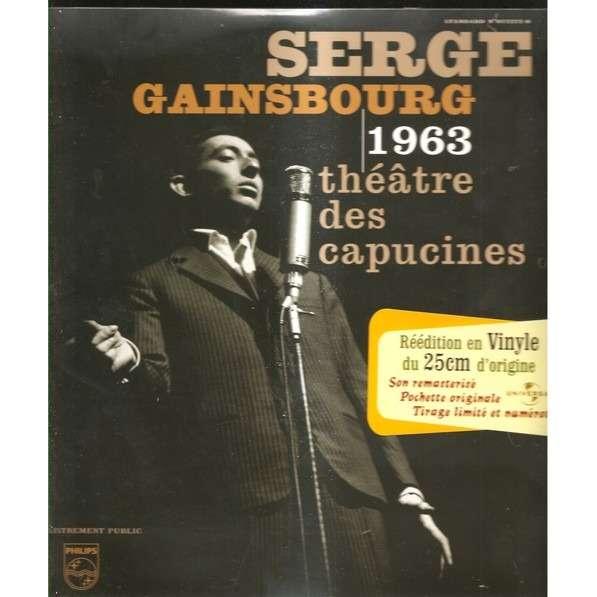 serge gainsbourg 1963 theatre des capucines