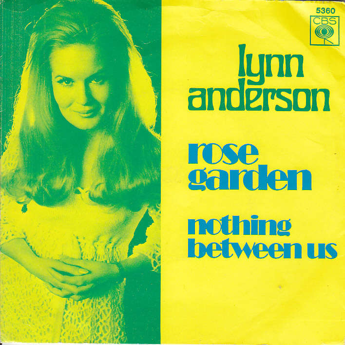 Rose garden / nothing between us (sleeve 1) by Lynn Anderson, SP ...