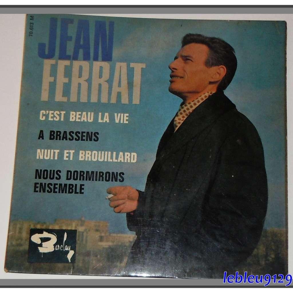 C Est Beau La Vie A Brassens Nuit Et Brouillard