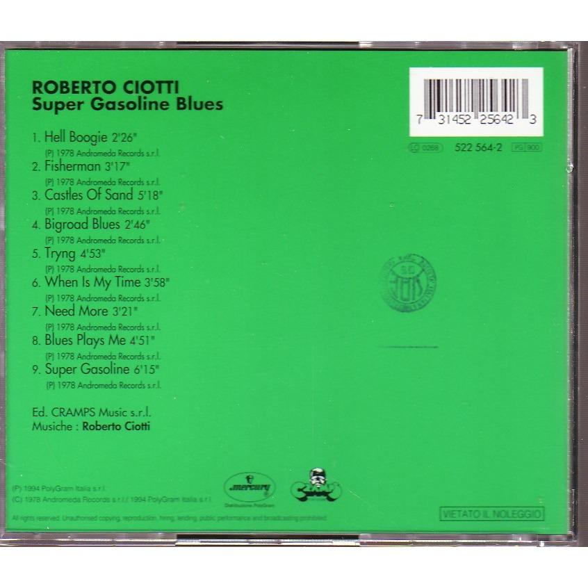 ROBERTO CIOTTI SUPER GASOLINE BLUES