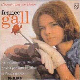 France Gall Les rubaans et la fleurs