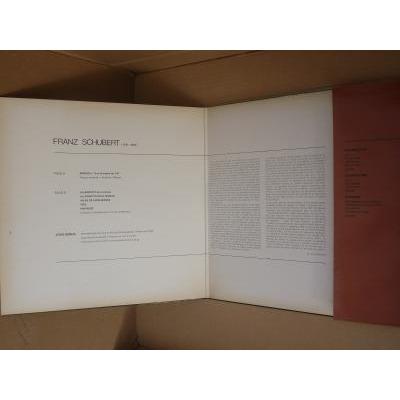 franz schubert Sonate N° 13 en LA  majeur op. 120 , Jörg Demus piano