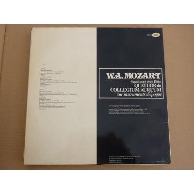 W.A.Mozart 4 quatuors avec flûte, Quatuor du collegium aureum sur instruments d'époque