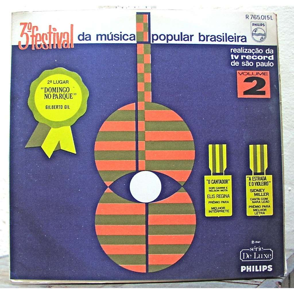 Elis Regina Ronnie Von Gilberto Gil Marcia etc.... 3eme Festival da Musica Popular Brasileira volume 2