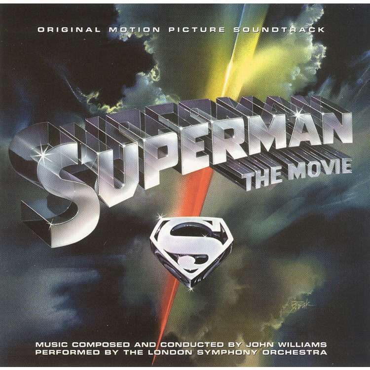 Superman The Movie By John Williams Cd X 2 With Ouvrier