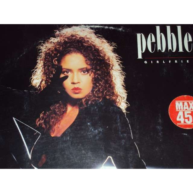 pebbles GIRLFRIEND (EXTENDED VERSION 6'49) 1987 GERMANY (MAXIBOXLP)