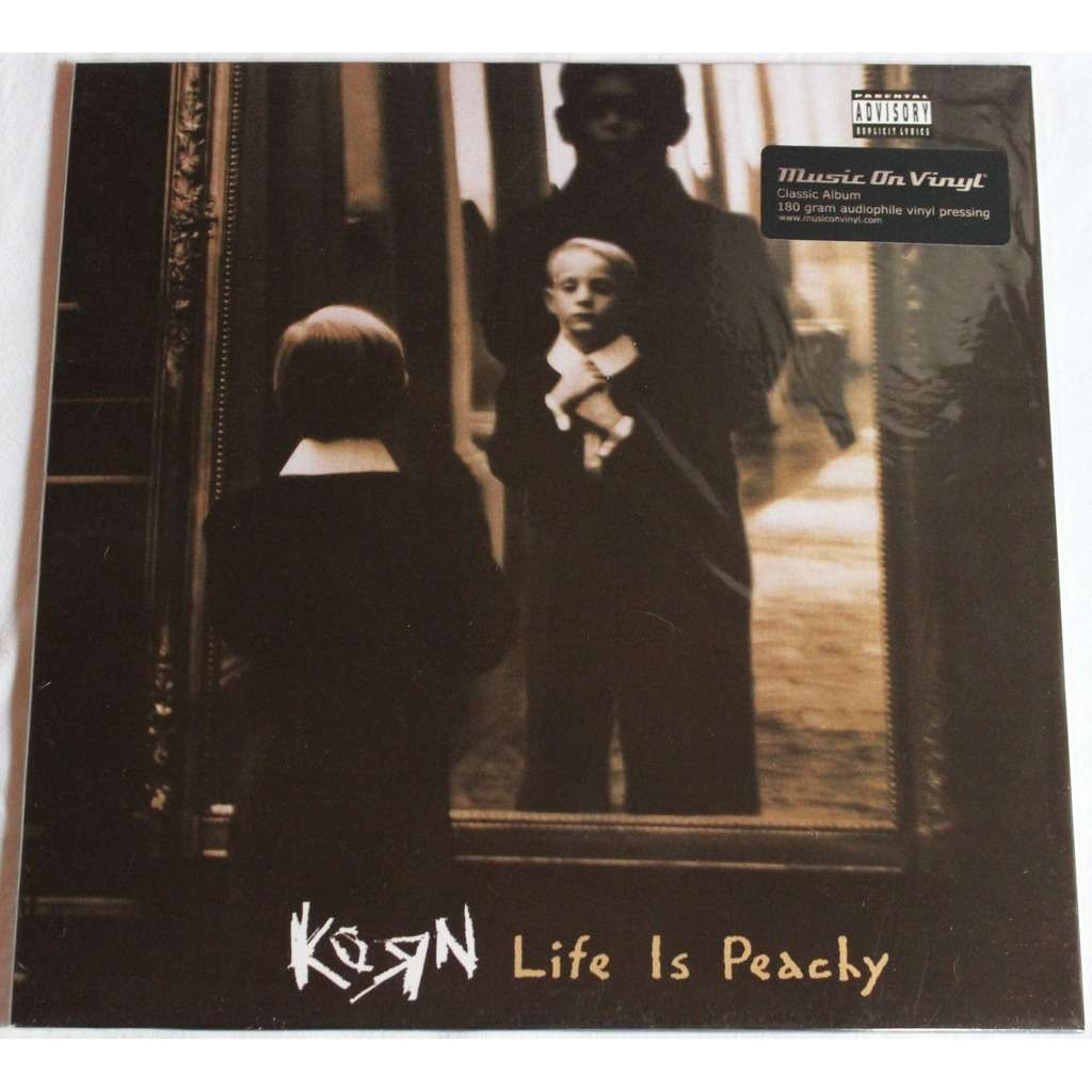 Korn Life Is Peachy Album Cover Korn life is peachyKorn Life Is Peachy Album Cover