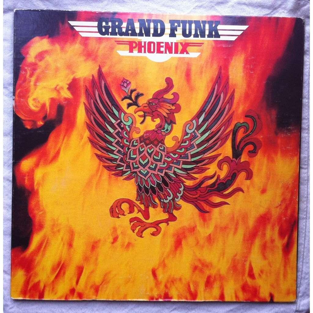Phoenix By Grand Funk Lp Gatefold With Airwaytovesten