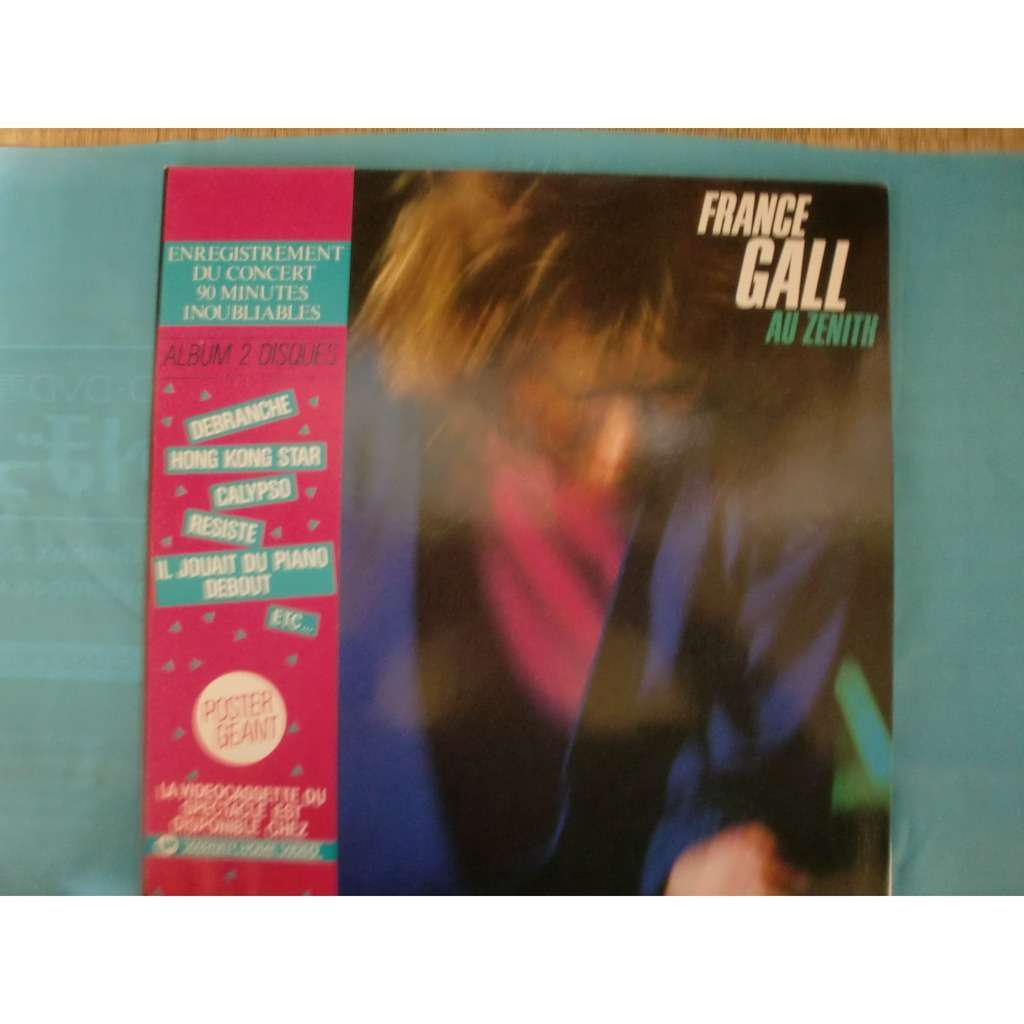 france gall au zenith  (+poster)