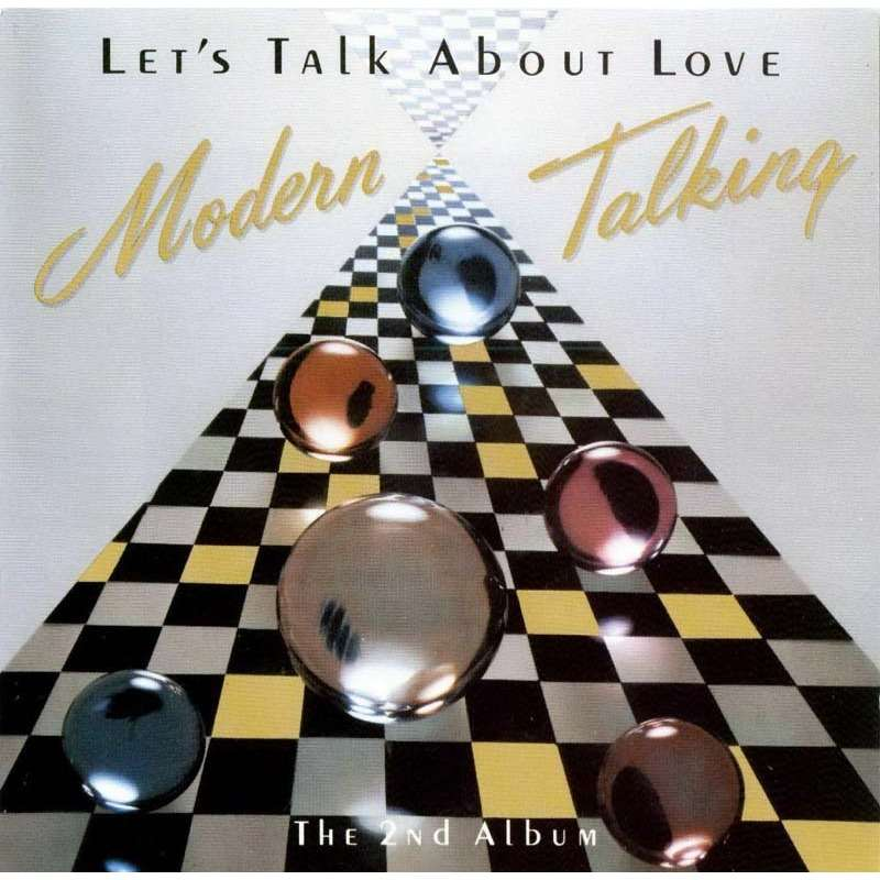 let s talk about love modern talking cd2枚 売り手
