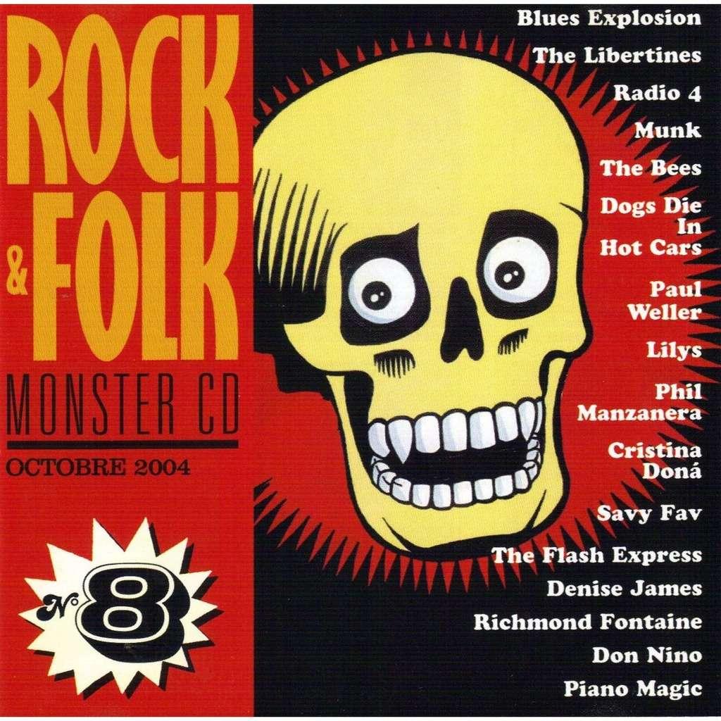 ROCK  & FOLK ROCK  & FOLK   MONSTER CD no 8