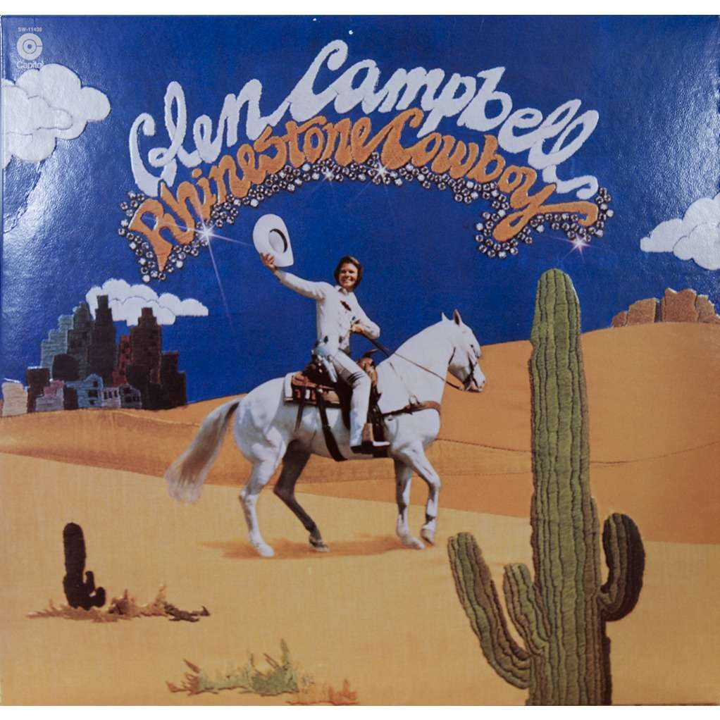 Rhinestone Cowboy By Glen Campbell Lp With Rarissime