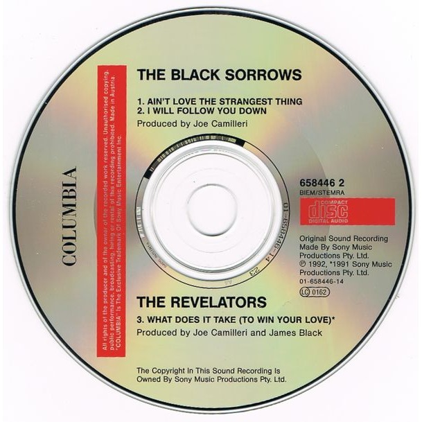 Black Sorrows, The Ain't Love The Strangest Thing