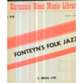 HARMONIC MOOD MUSIC LIBRARY - HARMONIC MOOD MUSIC LIBRARY - FONTEYN'S FOLK JAZZ - 25 cm