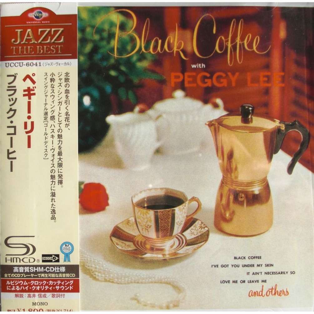 Coffee Book Album: Black Coffee (shm-cd Japanese Press) By Peggy Lee, CD With