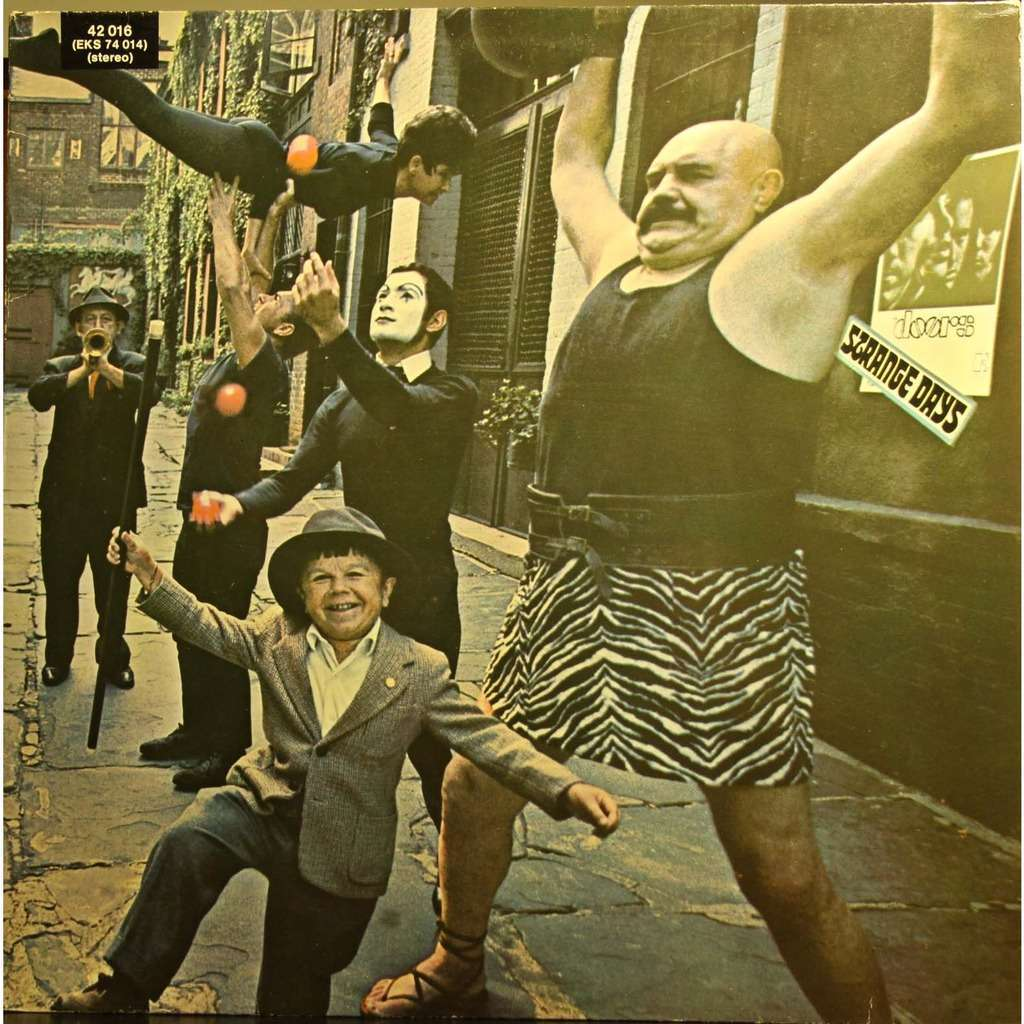 the doors Strange days  sc 1 st  CD and LP & Strange days by The Doors LP with playthatmusic - Ref:115848676