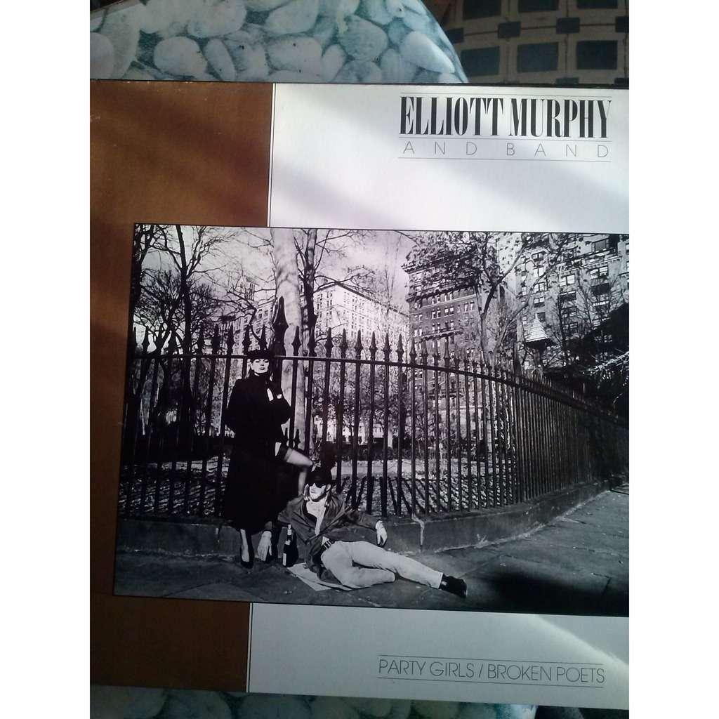 Elliott MURPHY & BAND party girls and broken poets