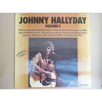 johnny hallyday Volume 4.