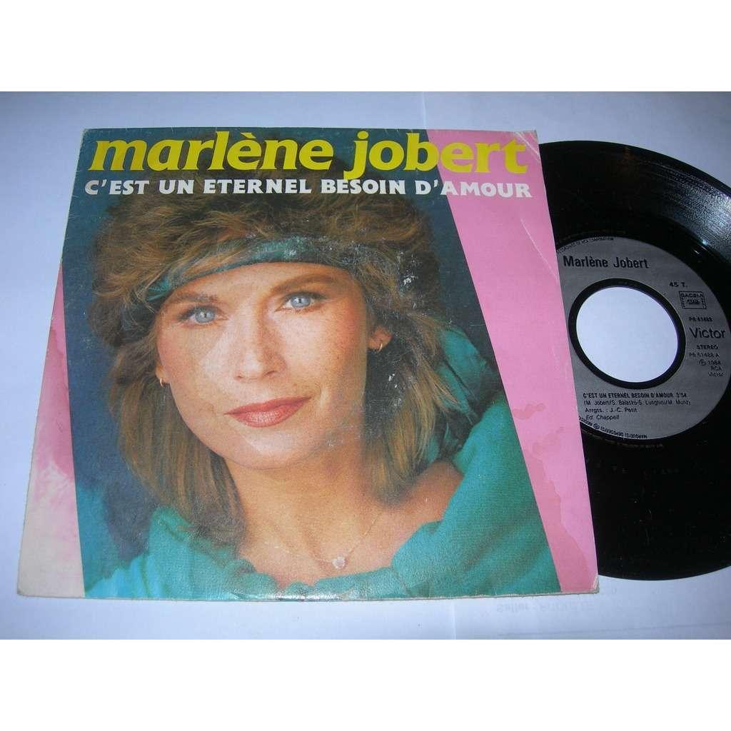 marlène jobert c'est un éternel besoin d'amour ( proche VG++ / NM )
