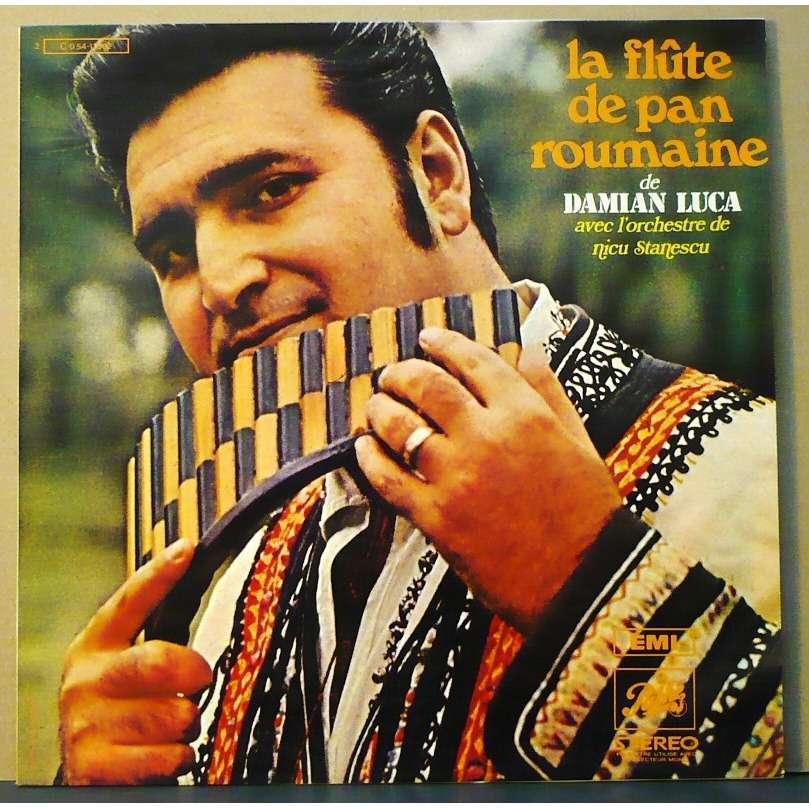 La flute de pan roumaine de Damian Luca, 33T chez vinyloffice ...